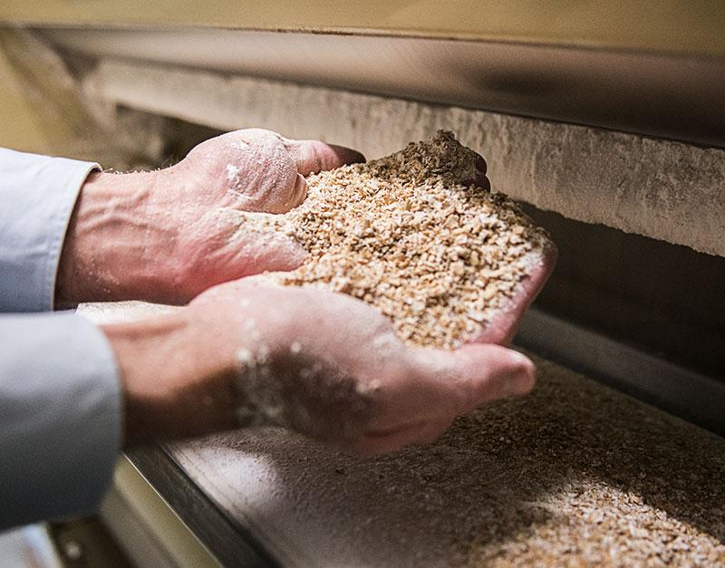 Deller Mehl – Produktion